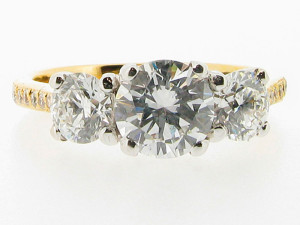 round-brilliant-trilogy-3-three-stone-yellow-gold-with-pave-set-shoulders-engagement-rings-dublin-ireland-300x225